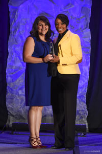 Dallas Police Department Nonsworn Employee of the Year: Stephanie Mendoza, Special Investigations Division